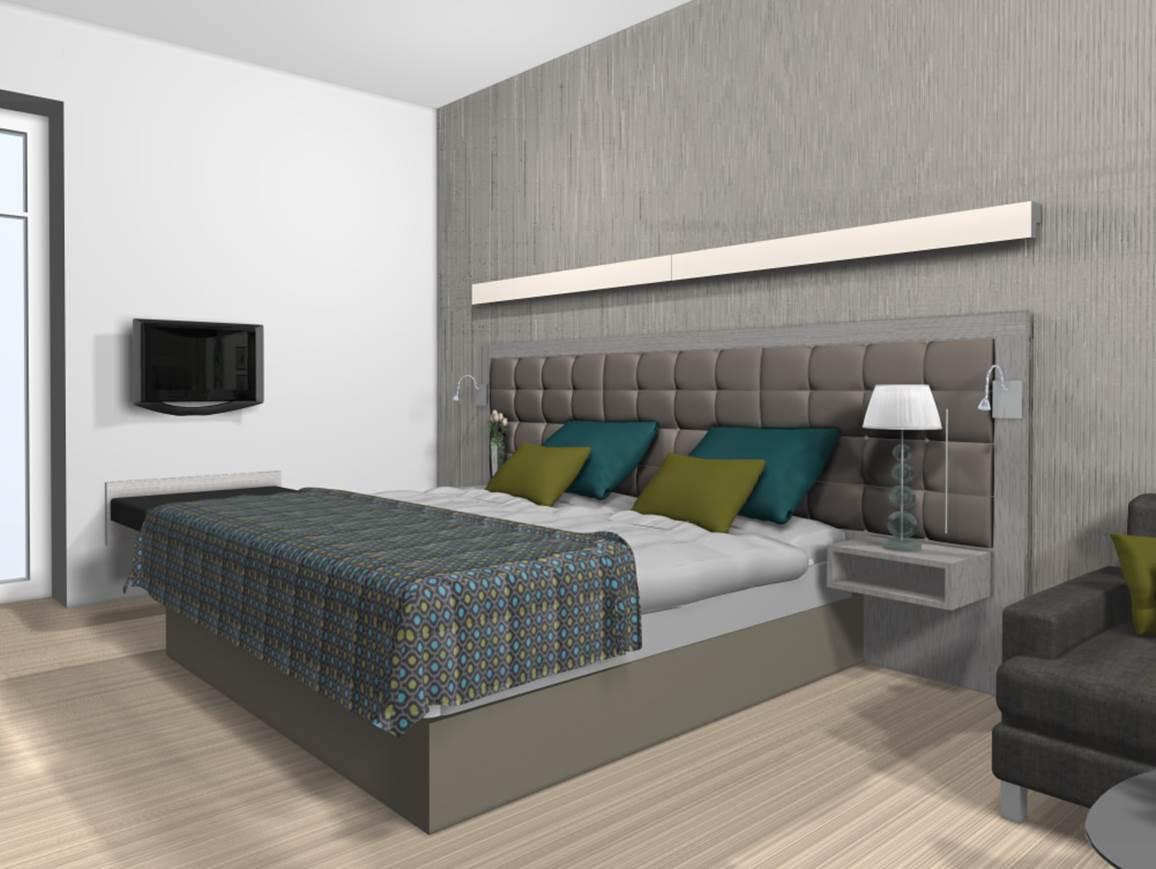 Hotelindretning 3d Visualisering