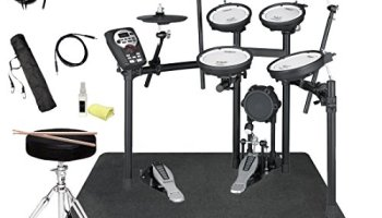 Roll-up drum portable electronic pad set 9 with silicon pad built-in