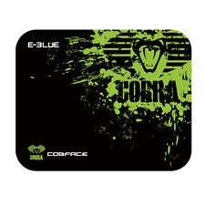 E-Blue Cobra small black and green gaming mouse pad
