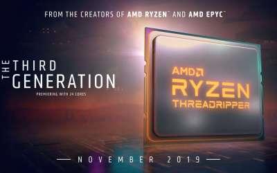 Web-Systems | AMD Ryzen Threadripper 3000 series launch dates