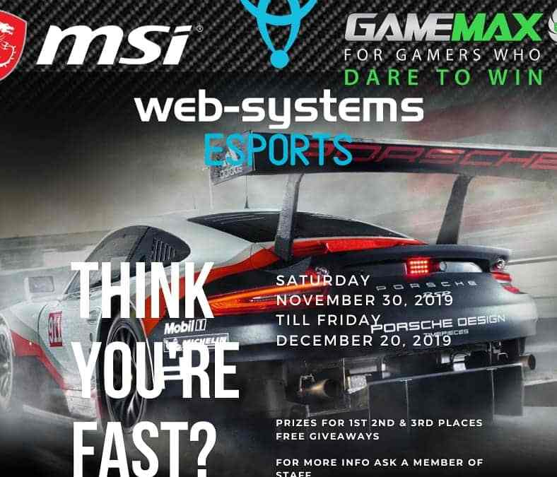 Web-systems Esports competition!