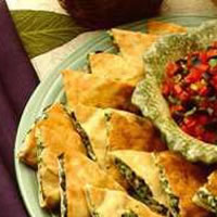 Olive and Goat Cheese Quesadillas: Main Image