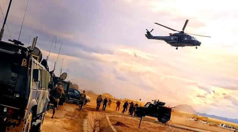 Paracadutisti Afghanistan