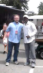 Brian Alvey and Don Cheadle