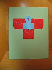 Quilted Kimono Card