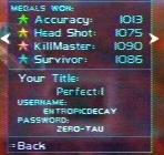 The Perfect: 1 password.
