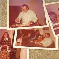 Our family Thanksgiving (circa 1968)