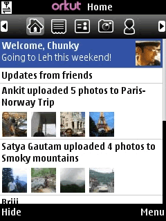 Finally Orkut Mobile App is Launched!