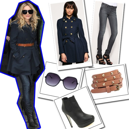 Mary Kate Olsen Look for Less