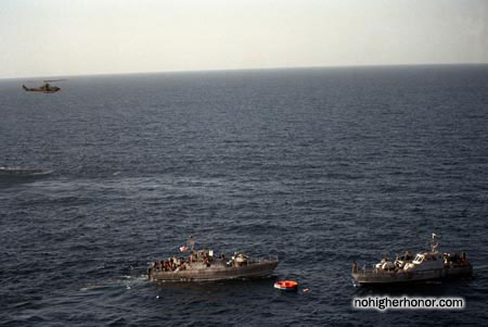 during Operation Prime Chance, a part of the U.S. Navy's Operation Earnest Will.