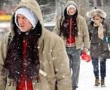 James Bond star Daniel Craig and actress wife Rachel Weisz hit the gym despite heavy snow in New York