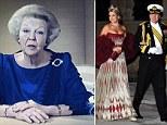 Dutch Queen Beatrix announcing her abdication