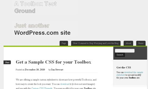 Toolbox HTML5 Free WordPress Theme 10 Free HTML5 WordPress Themes