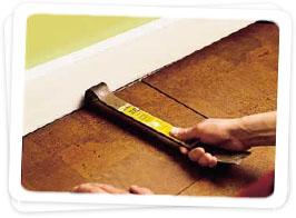 installing cork flooring