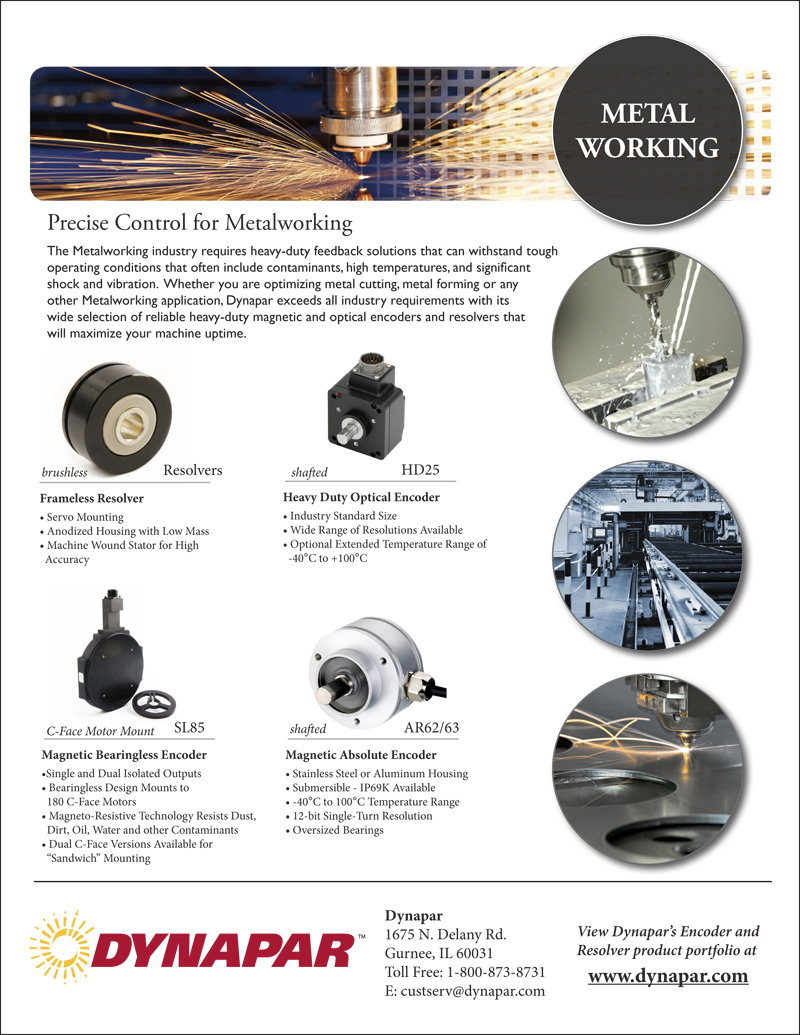 Metalworking Industry Product Sheet