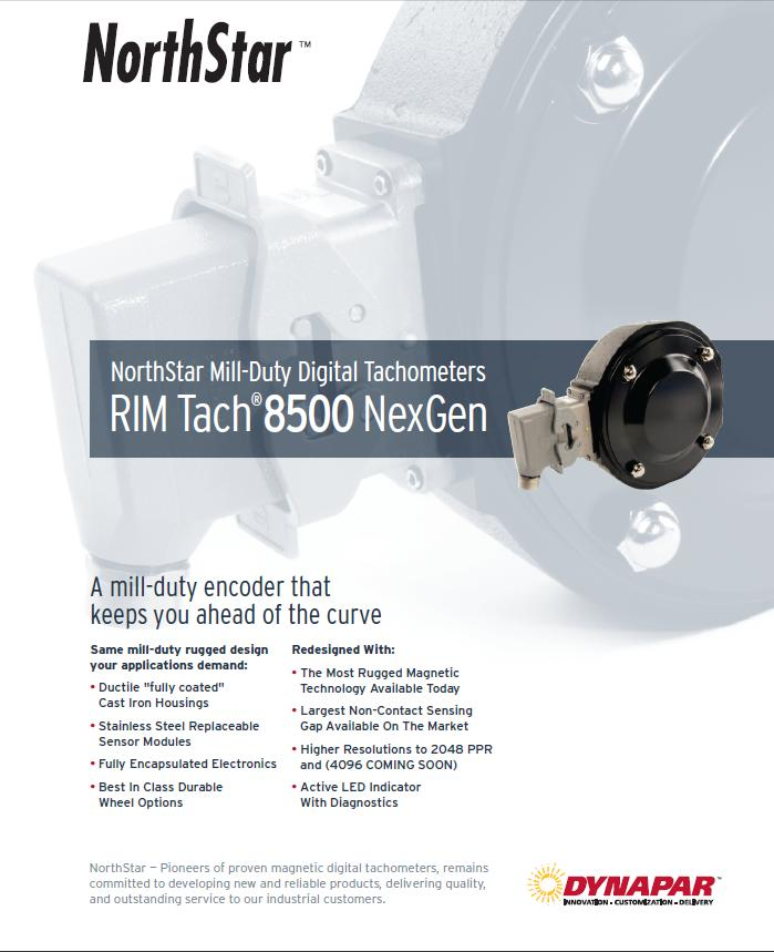 NexGen RIM Tach 8500 Brochure
