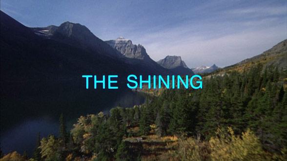 the shining opening scene