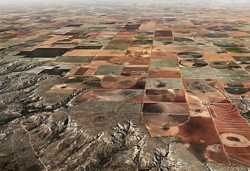 Agricultural waste land