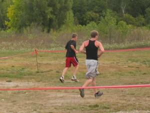 Curt Logan at the Warrior Dash in Walker, MI
