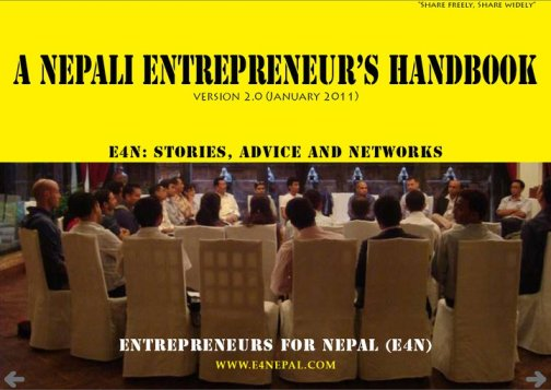 Book on Nepali Entrepreneurship
