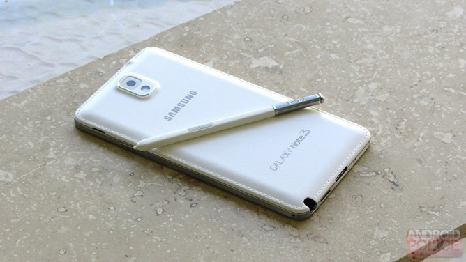 note3 back The Samsung Galaxy Note III and Samsung Galaxy Gear