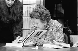 Julia Child, Miami Book Fair International, 1989