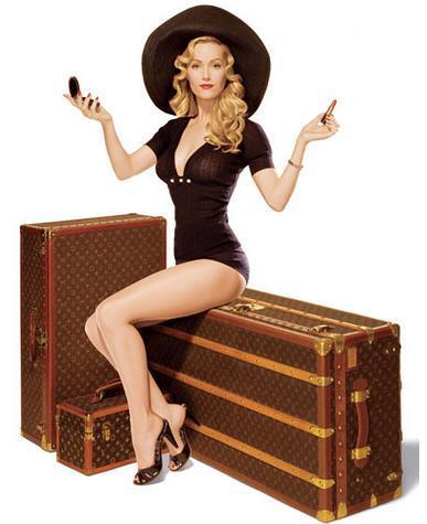 Louis Vuitton travel luggage