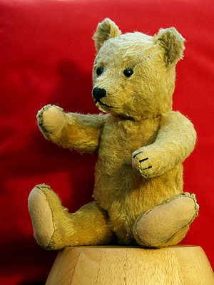 Teddy bear, born in Germany about 1954