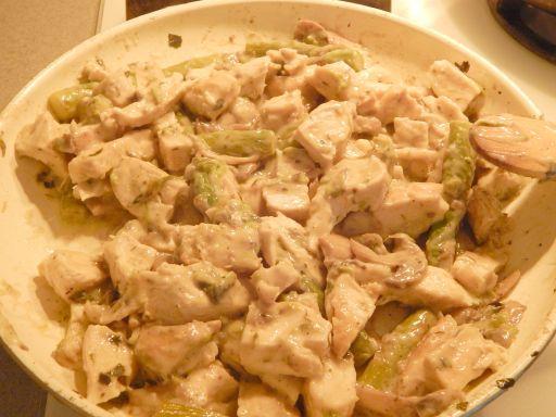 chickentetrazzini3 Healthy Chicken Tetrazzini