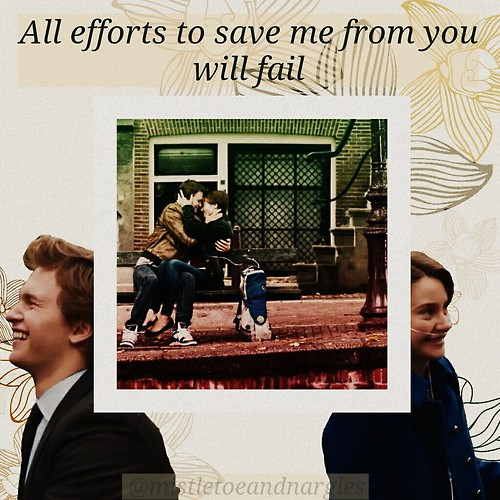 nymphadoragreenleaf:</p> <p>Hazel and Augustus edit from TFIOS done by me:)<br />