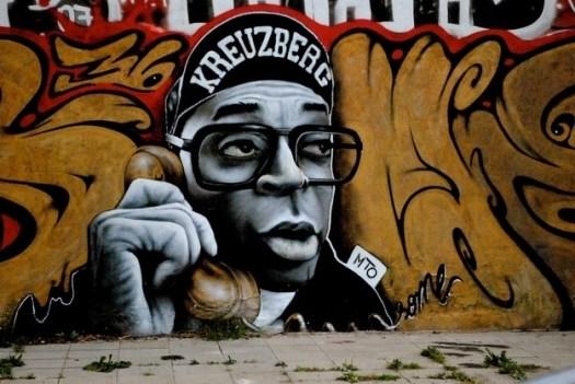 Street art in Berlin is everywhere you turn.