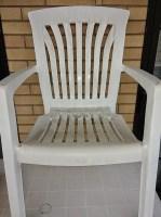 pulire sedia plastica