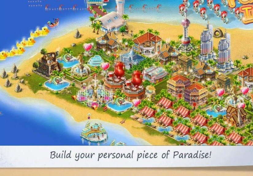 Paradise Island Android Apps Download for Free