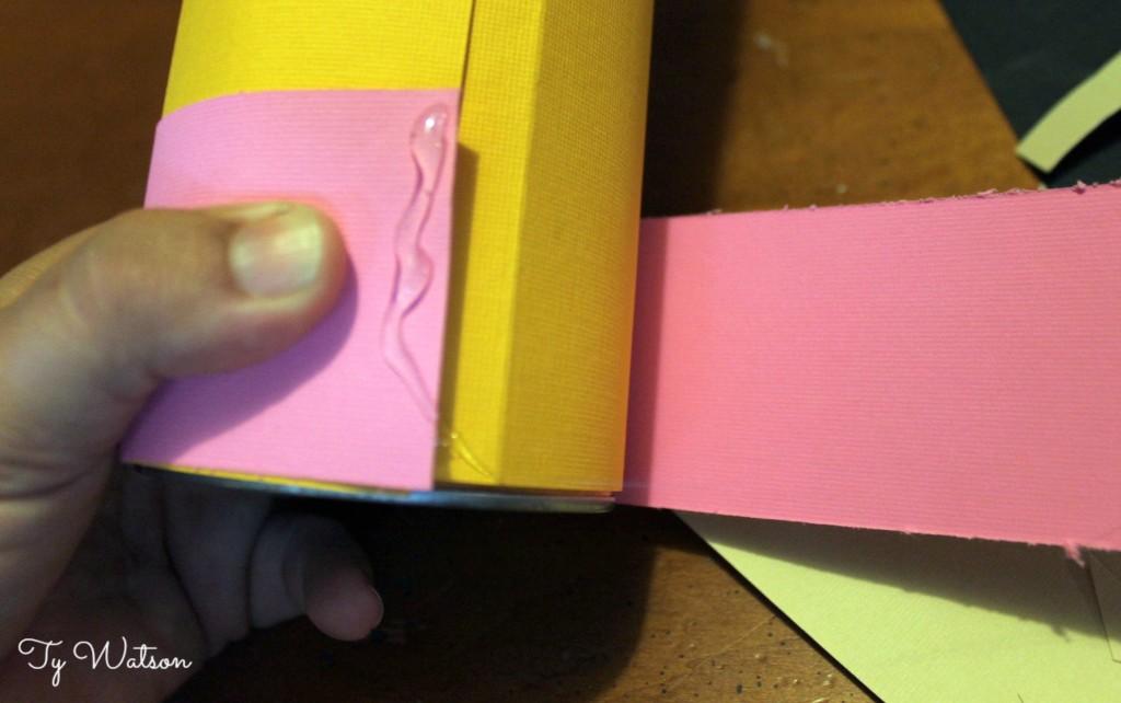 DIY Pencil Holder Process