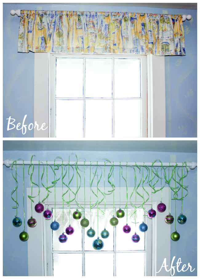 Before and Ater Valance