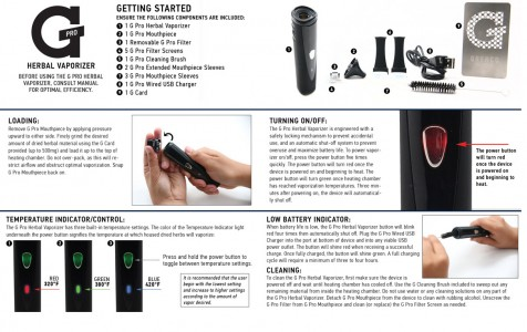 Gpro vape instructions
