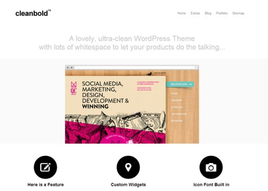 WordPress portfolio theme for photographers