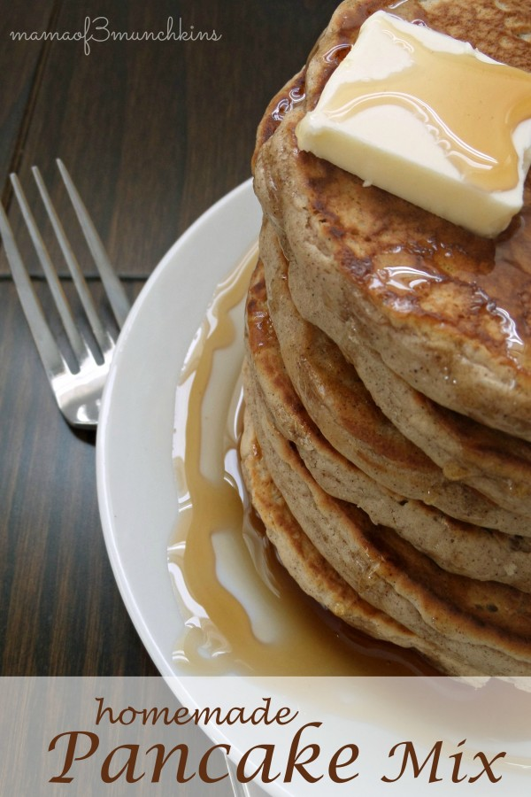 Homemade Pancake Mix