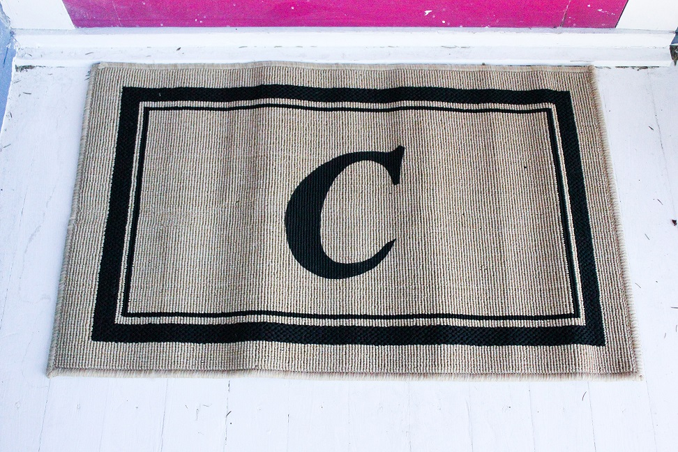 How To Make A Personalized Welcome Mat