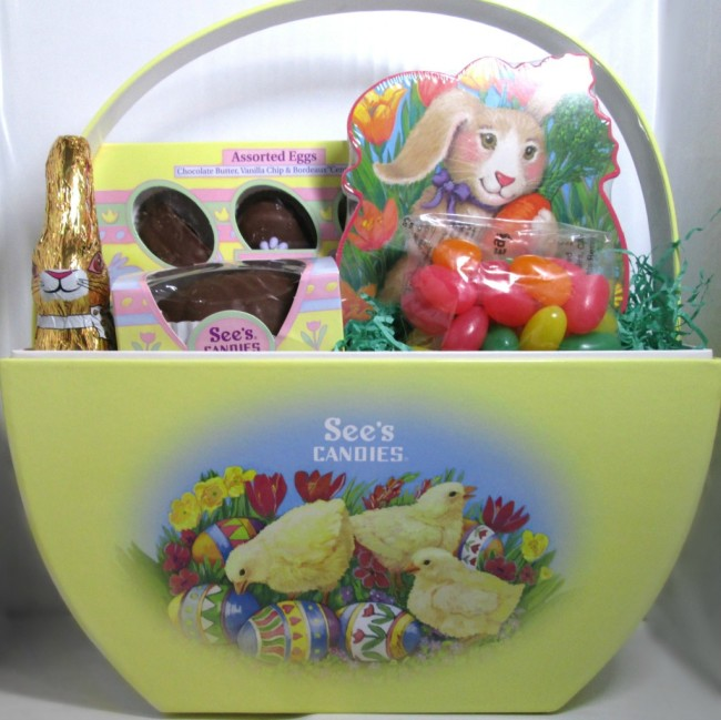 See's Easter Surprise Basket