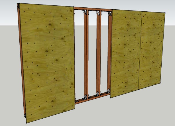 Kids Wall Bare Ply