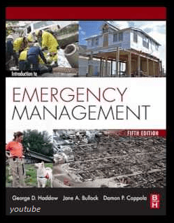 Image and information on Introduction to Emergency Management 5th Edition, Haddow PDF or Download