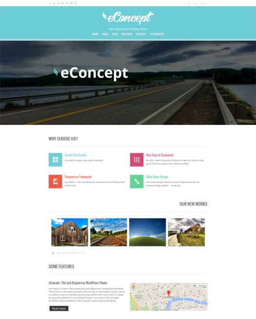 eConcept-flat-responsive-WordPress-theme