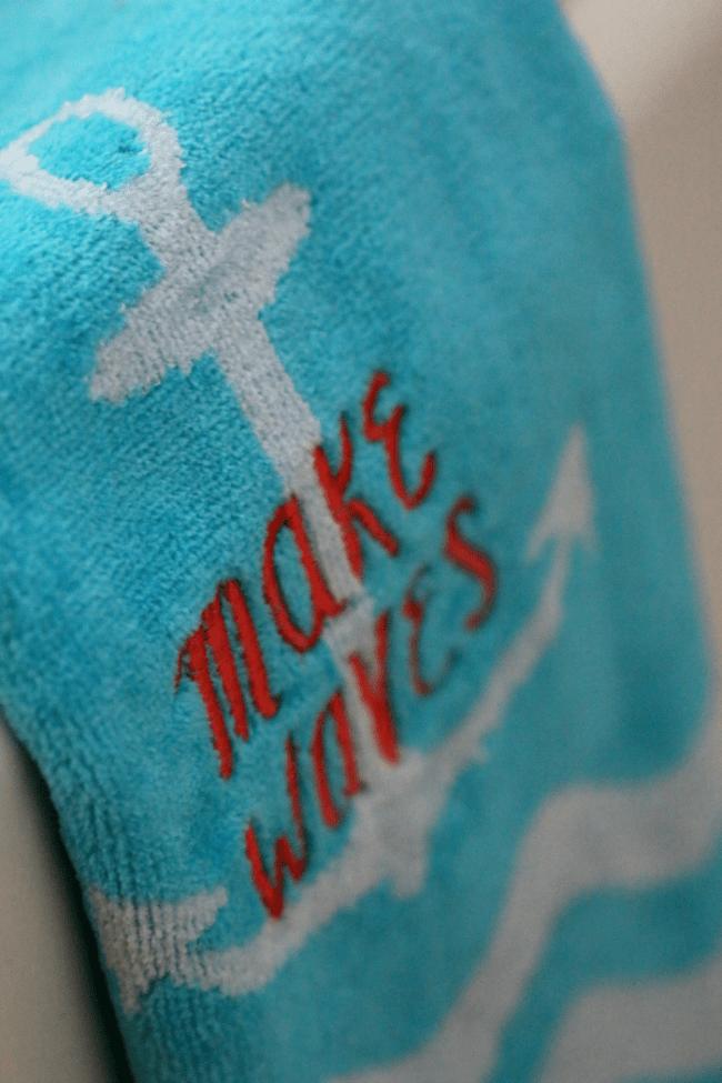 Flip Flop Hand Towel
