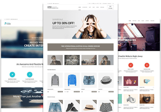 drag and drop WordPress theme