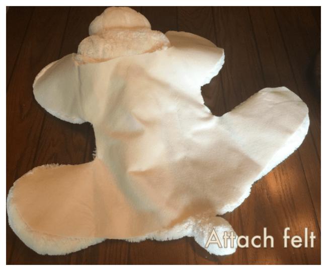 DIY Bear Rug