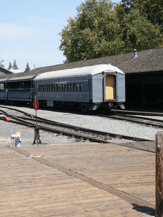 Old Sacramento Train