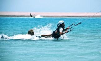 bodydraggen introductieles kitesurfen