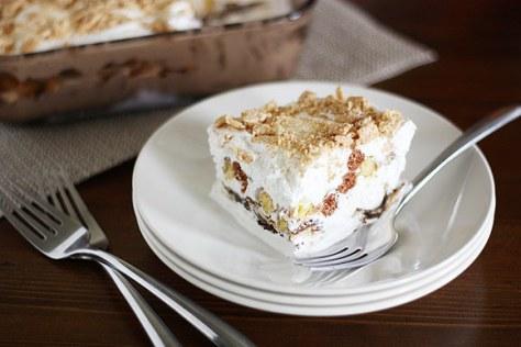 Cinnamon Toast Crunch Dessert Lasagna