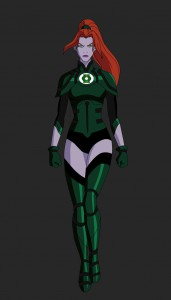 Laira Omoto Fun Facts: Senior member of the Green Lantern corps, argued to be the most mentally tough lantern alive